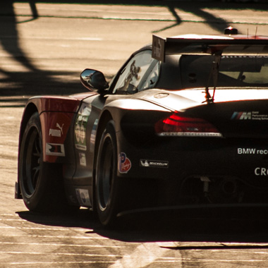 BMW Z4 GT3 at Long Beach Grand Prix