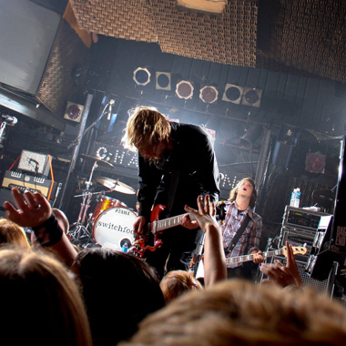 Switchfoot playing at the Chameleon Club in Lancaster, Pennsylvania